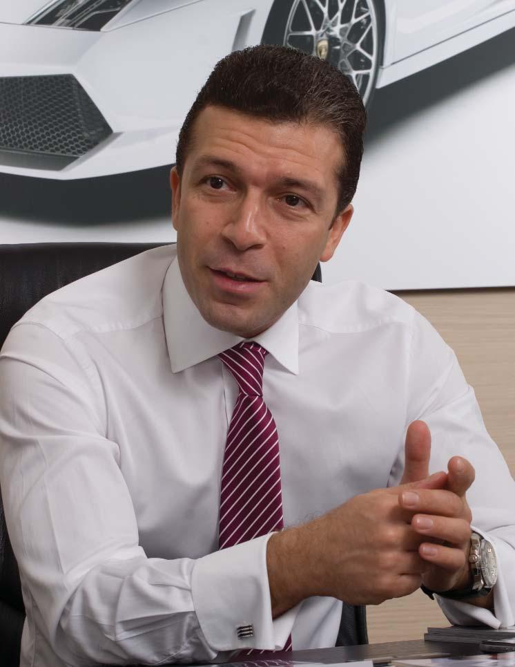 Audi, Bentley, Lamborghini, Bugatti Marka Genel Müdürü Giovanni Gino Bottaro