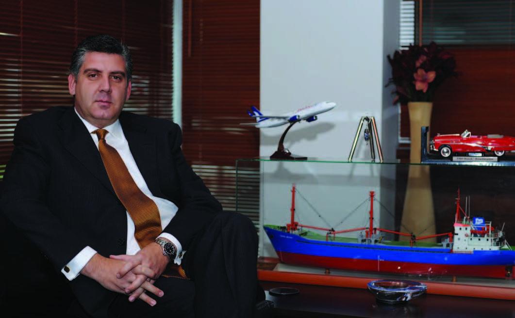Miller Oto Ticaret ve Sanayi A.Ş. Yönetim Kurulu Başkanı<br />MERT MİLDON