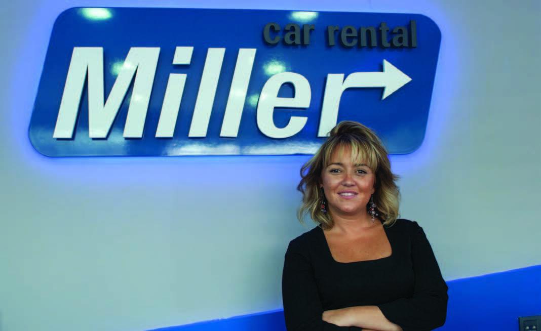 Miller Car Rental Yönetici Direktörü<br />ELİF SEDA KABAN