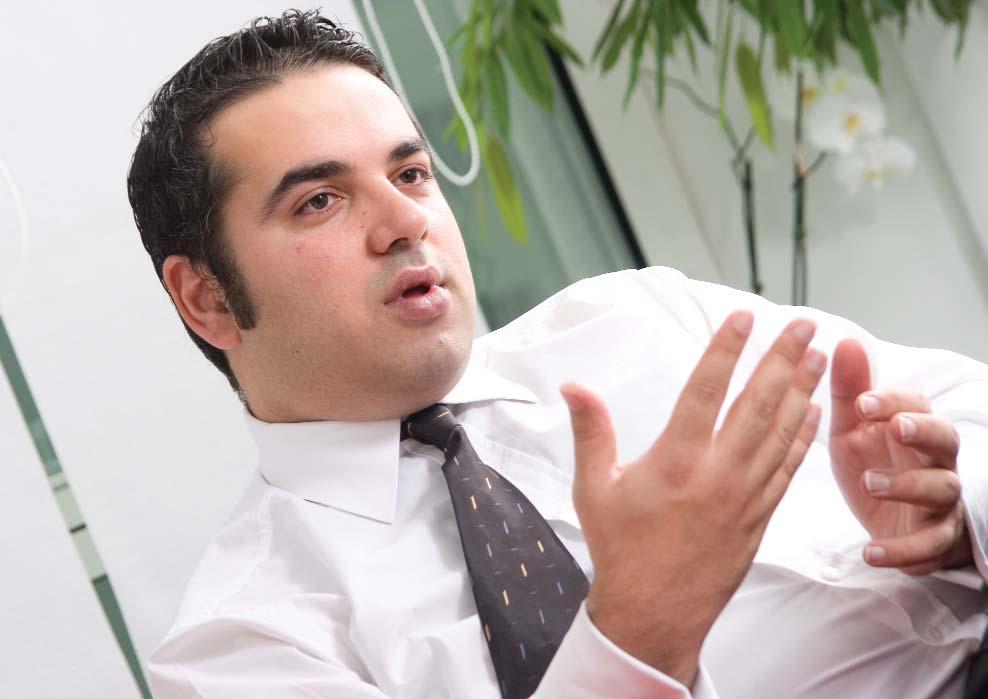 Hedef Filo Hizmetleri Yönetici Direktörü Ersan Öztürk